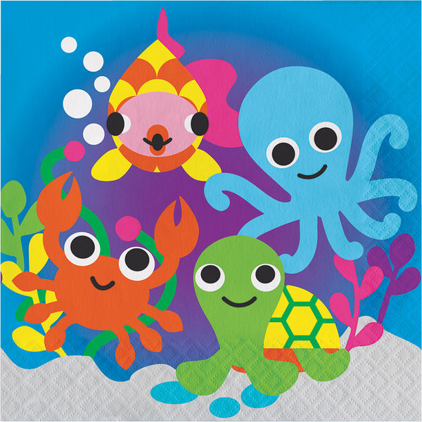 Under the Sea Paper Luncheon Napkins