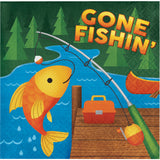 Camping Name Cards, Buffet Cards, Fishing Theme Decoration