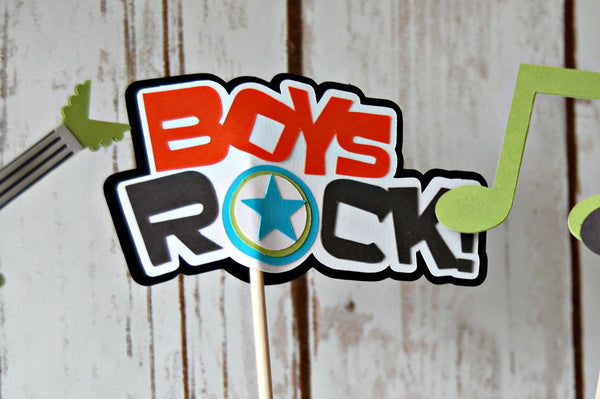 Rock n Roll Party Centerpiece-BOY - We Bring the Party