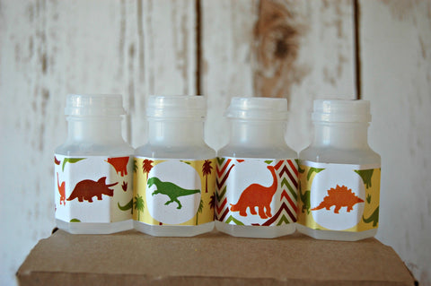 Dinosaur Theme Party Favor Bubbles (set of 12) - We Bring the Party