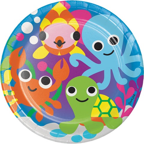 Under the Sea Paper Dinner Plates