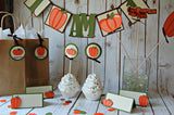 Pumpkin Mini Banner, Pumpkin High Chair Banner - We Bring the Party - 2