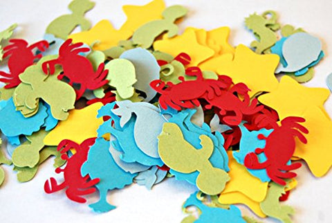 Under the Sea Birthday Party Confetti (100 pieces)