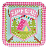Glamping Party Paper Cups, Glam Camping Cups, Girl Camp Out Party