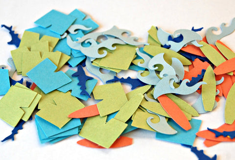 Surfing Confetti (100 pieces) - We Bring the Party - 1