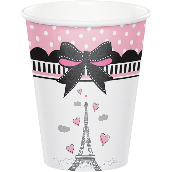 ... Paris Party Dinner Plates Little Girl Luncheon Plates Eiffel Tower Paper Plate Birthday ...  sc 1 st  We Bring the Party & Paris Party Dinner Plates Little Girl Luncheon Plates Eiffel Tower ...