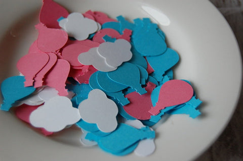 Hot Air Balloon Confetti (100pc)