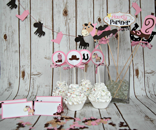 Build a Cowgirl Party