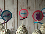 Girl Surf Cupcake Toppers - We Bring the Party - 2