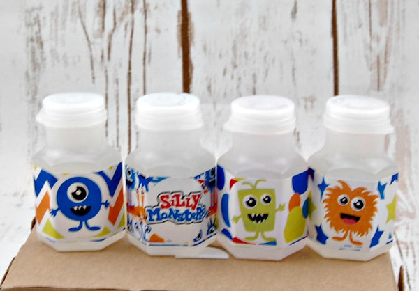 Monster Bubbles, Party Favor Bubbles, Little Monsters Party Favor