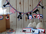 Vintage Chic Farmer's Party Banner, Farm Birthday Banner - We Bring the Party - 2