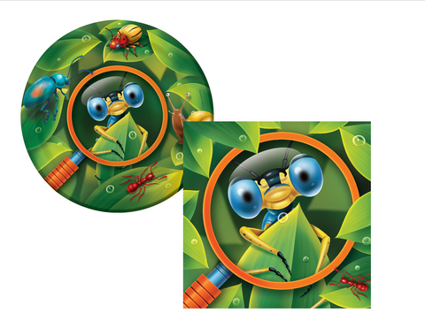 Bug Plates/Napkins - We Bring the Party