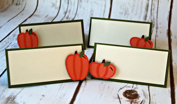 Pumpkin Name Tags (set of 6) - We Bring the Party