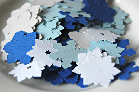Snow Flake Party Themed Confetti (100pcs) - We Bring the Party - 1