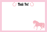 Digital Cowgirl Invitation and Thank You