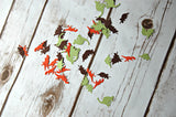 Dinosaur Silhouette Birthday Party Confetti (100 pieces) - We Bring the Party - 2