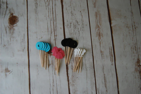 Sock Hop Party Picks (24pc)