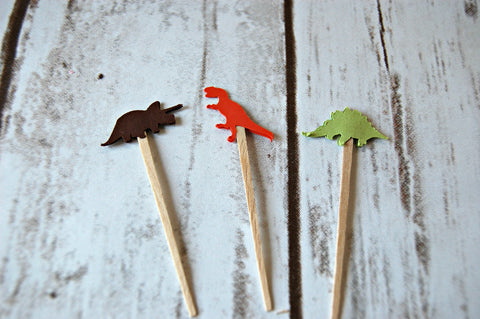 Dinosaur Party Picks (Set of 24)