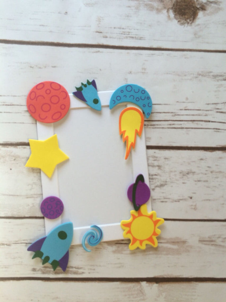 Outer space craft kit, frame craft, space shuttle, party craft – We ...