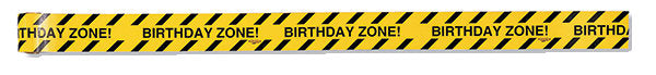 Construction Zone Decorative Warning Tape, Construction Party Decoration