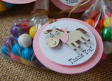 Cowgirl Theme Birthday Party Favor Tags (set of 12) - We Bring the Party - 1