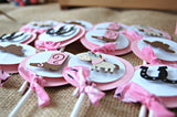 Cowgirl Themed Birthday Party Cupcake Toppers (set of 12) - We Bring the Party - 2