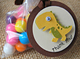 Dinosaur Themed Birthday Party Favor Tags (12) - We Bring the Party - 4