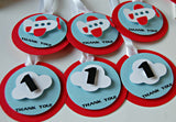 Airplane Theme Birthday Party Favor Tags (12) - We Bring the Party - 3