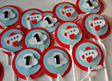 Airplane Pilot Birthday Party Cupcake Toppers (set of 12) - We Bring the Party - 2
