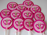 Butterfly Birthday Party Cupcake Toppers (set of 12) - We Bring the Party - 2