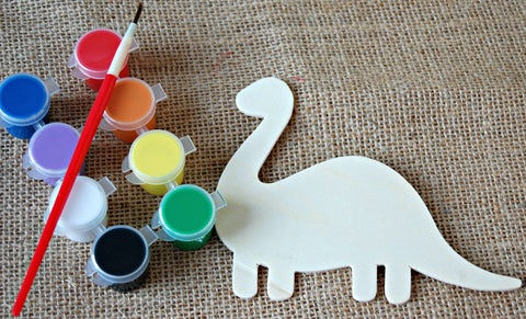 Dinosaur Party Craft Kit - Kids Craft Kit - Dinosaur Party Favor - Party Activity