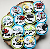 Insect Birthday Photo Banner Clips with Ribbon, Bug Birthday Photo Banner Clips - We Bring the Party - 1