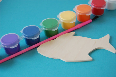 Fish Party Painting Craft Kits - We Bring the Party - 1