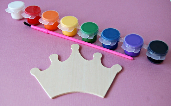 Princess Party Painting Craft Kits - We Bring the Party - 1