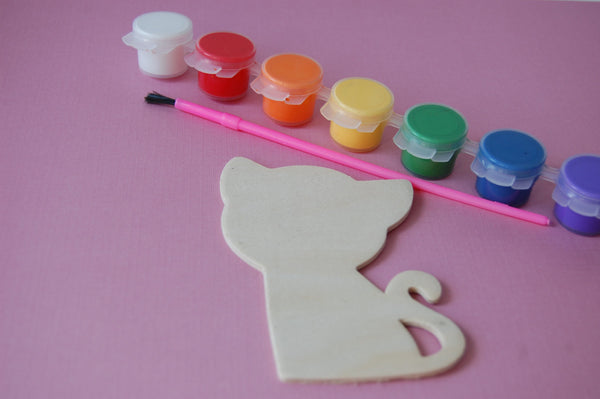 Cat Party Painting Craft Kit - We Bring the Party - 1