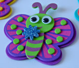 Foam Butterfly Craft Kit - We Bring the Party - 2