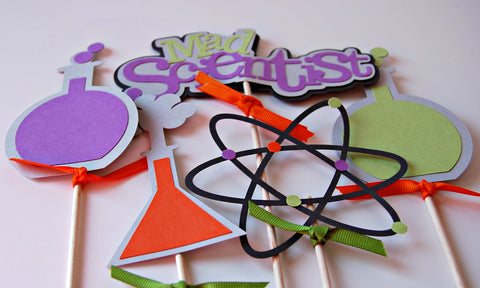 Scientist Birthday Party Centerpiece - We Bring the Party - 1