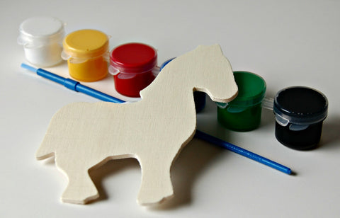 Horse Party Painting Craft Kit - We Bring the Party