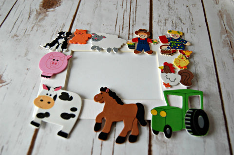 Farm Themed Photo Frame Craft Kit - We Bring the Party - 1