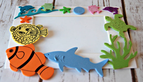 Under the Sea Themed Photo Frame Craft Kit - We Bring the Party - 1