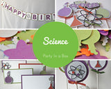 Scientist Party Decorations, Chemistry Party in a Box - We Bring the Party - 1