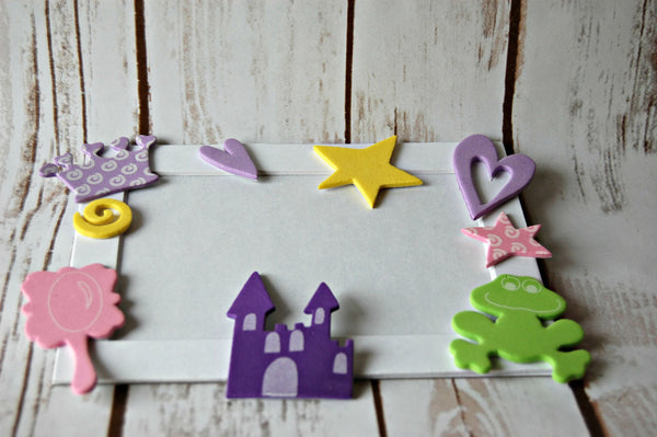 Princess Themed Photo Frame Craft Kit - We Bring the Party