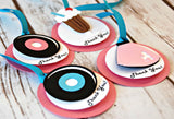 Sock Hop Birthday Party Favor Tags (set of 12) - We Bring the Party - 2