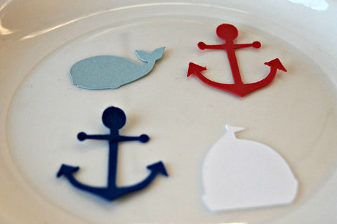 Sailing Birthday Party Confetti, Nautical Party (100 pieces) - We Bring the Party - 1