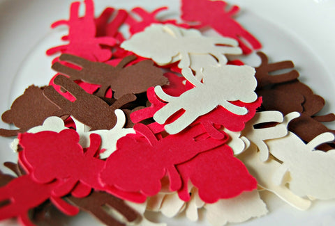 Sock Monkey Party Confetti (100 pieces) - We Bring the Party - 1