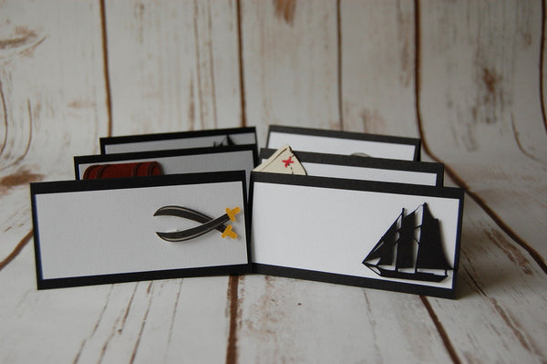 Pirate Name Tags (6pc)