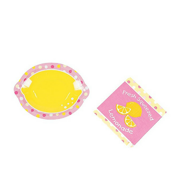 Lemonade Party Plates/Napkins - We Bring the Party