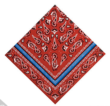 Cowboy Red Bandana Luncheon Napkins (16 count)