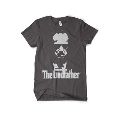 The Godfather Shadow Mens T-Shirt (Dark Grey)