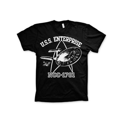 Star Trek- U.S.S. Enterprise 3XL, 4XL, 5XL Mens T-Shirt